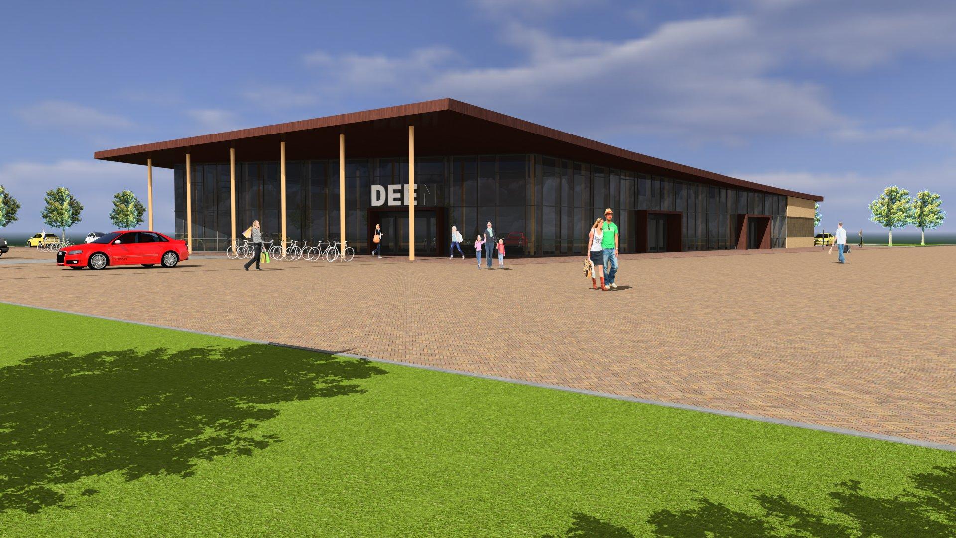 Goedkeuring welstandscommissie Deen Supermarkt Lelystad