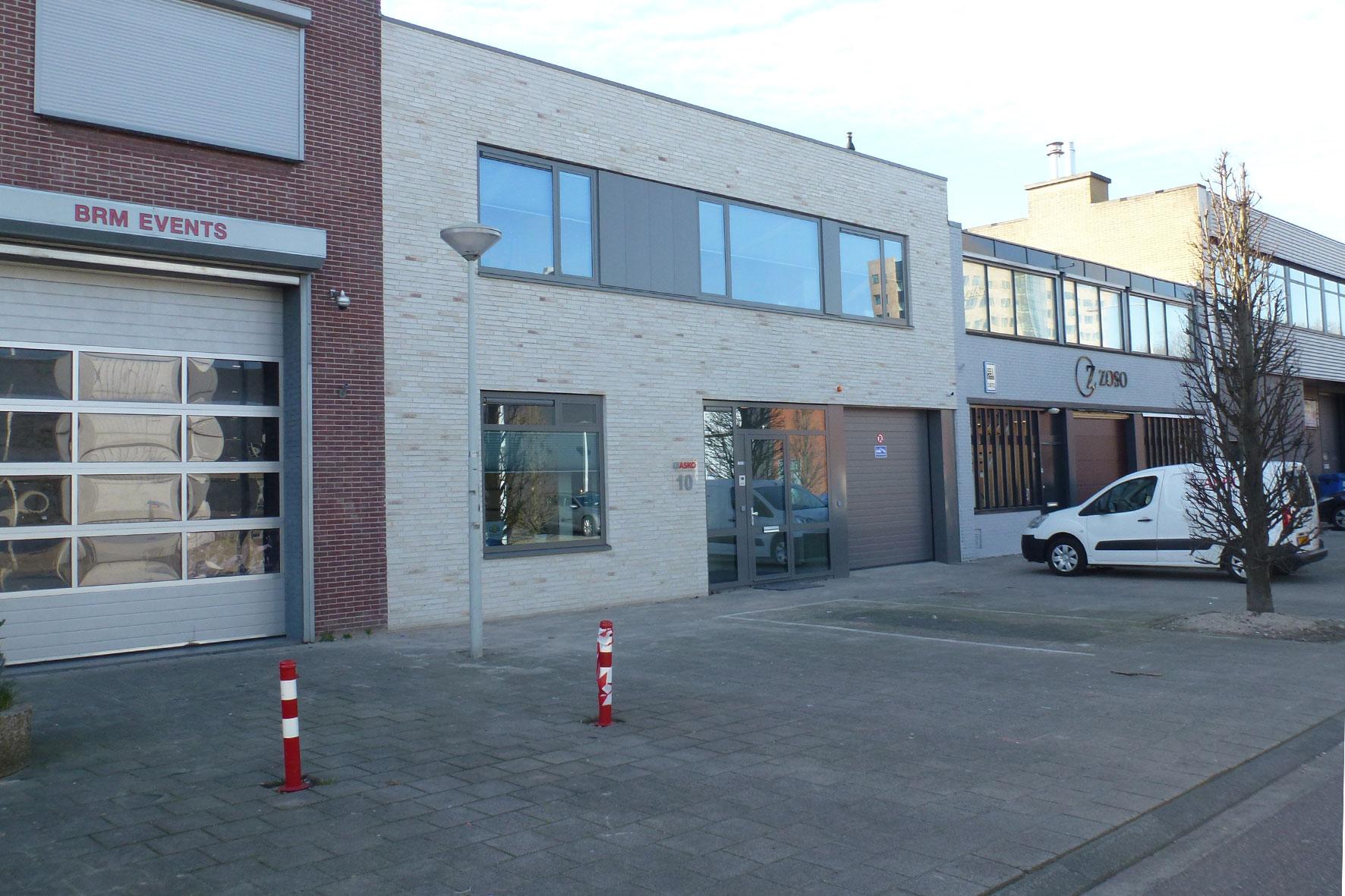 Verbouw en uitbreiding kantoor en bedrijfsruimte te Amsterdam